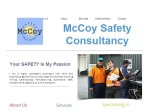 View More Information on McCoy Safety Consultancy