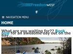 View More Information on Freedom West Boat Hire
