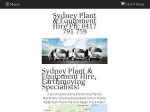 View More Information on Sydney Plant & Equipment Hire