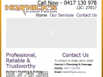 View More Information on Hornick's Plumbing & Drainage