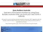 View More Information on Quay Builders Australia