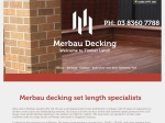 View More Information on Merbau Decking