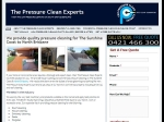 View More Information on The Pressure Clean Experts