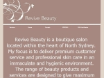 View More Information on Revive Beauty