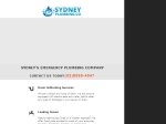 View More Information on Sydney Plumber Co