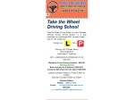 View More Information on Take The Wheel Driving School