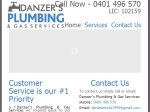 View More Information on Danzer's Plumbing & Gas Services