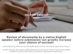 View More Information on Help My English Fast