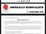View More Information on Joondalup Removalists