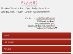 View More Information on Flamez Hair Dezign