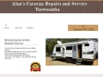 View More Information on Alan's Caravan Repair And Service
