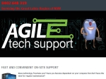 View More Information on Agile Tech Support