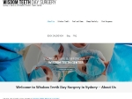 View More Information on Wisdom Teeth Day Surgery