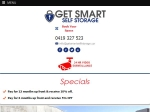View More Information on Get Smart Self Storage