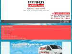 View More Information on Same Day Hot Water Service