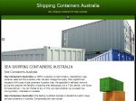 View More Information on Sea Containers Australia