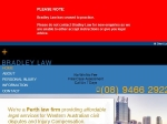 View More Information on Bradley Law, Perth