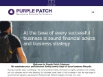 View More Information on Purple Patch Accountants and Advisors