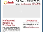 View More Information on Fresh Electrical & Data Pty Ltd