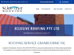 View More Information on Xclusive Roofing Pty Ltd