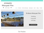 View More Information on Pineapples Marquee Hire
