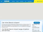 View More Information on Bargain Car Rentals, Darwin Airport