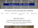 View More Information on Today's Blinds