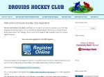 View More Information on Drouids Hockey Club, Drouin