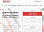 View More Information on Wilco Electrical Services, Baulkham Hills