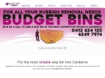 View More Information on Budget Bins, Canberra