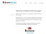View More Information on Boobook Editing