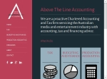 View More Information on Above The Line Accounting