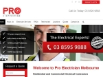View More Information on Pro Electrician Melbourne