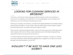 View More Information on One Less Worry Cleaning Services