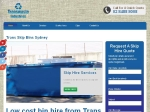View More Information on Trans Skip Bins Sydney