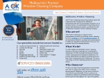 View More Information on A Ok Window Cleaning