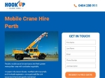 View More Information on Hookup Crane Hire