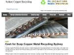 View More Information on Sydney Copper Recycling
