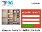 View More Information on Pro Built In Wardrobes Sydney