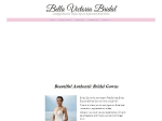 View More Information on Bella Victoria Bridal