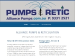 View More Information on Alliance Pumps