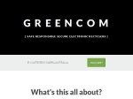 View More Information on Greencom