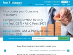 View More Information on Form A Company