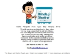 View More Information on The Blinds And Shutter People