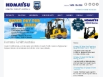 View More Information on Komatsu Forklift Australia Pty Ltd, Fairfield East