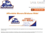 View More Information on Platinum Furniture Removals, Brisbane
