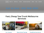 View More Information on Fast Melbourne Towing