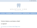 View More Information on Mountain View Denture Clinic