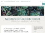 View More Information on Karen Blackwell Homeopathy