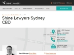 View More Information on Shine Lawyers, Sydney Cbd